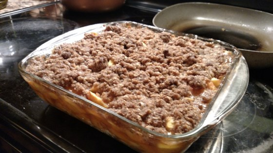 Photo of Peach and Nectarine Crumble by maradol