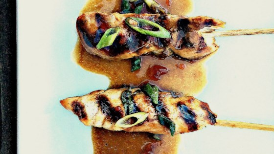 Photo of Ginger Grilled Chicken Satay  by Aleka Shunk