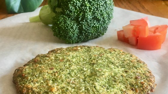 Photo of Broccoli Rice Pizza Crust by Julie Hubert