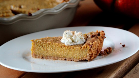 Photo of Pumpkin Pie (Dairy, Egg, and Gluten Free) by Veronica Ruff