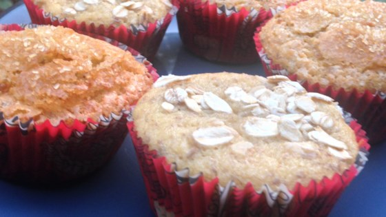 Photo of Yogurt, Banana, and Pear Muffins by Danielle