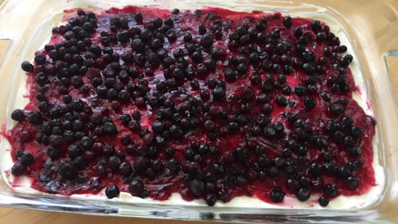 Photo of Huckleberry Cheesecake by Katie Madrian