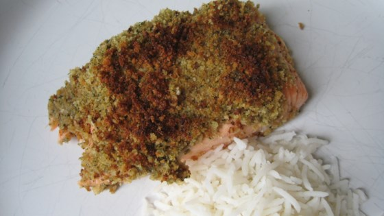 Photo of Lemon and Mint Crusted Salmon by FritzM