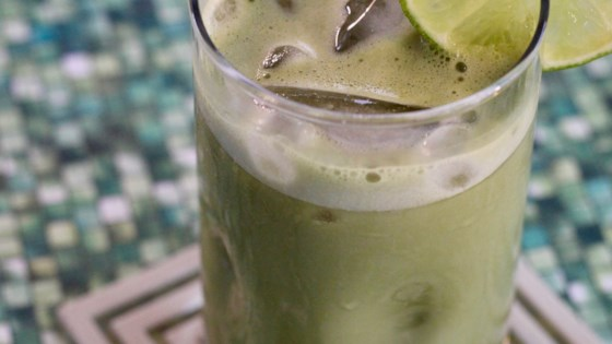 Photo of Iced Soy Milk Matcha Tea by Joely
