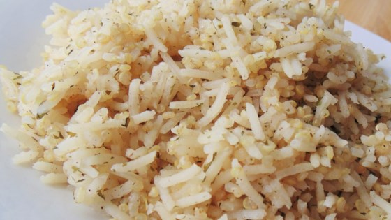 Photo of Savory Rice and Quinoa Pilaf by kmforestlakeMN