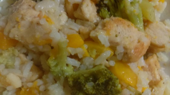 Photo of Peachy Broccoli Chicken by CHAZON