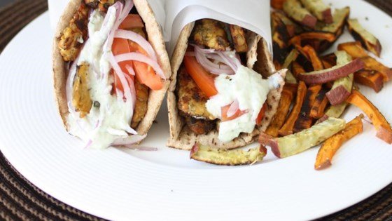 Photo of Tempeh Gyros by veggiesdontbite