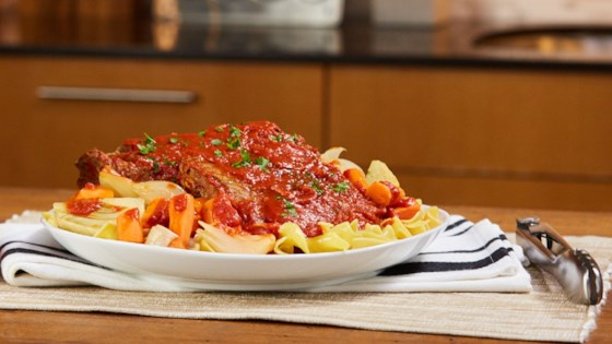 Photo of Italian-Style Pot Roast with Carrots and Fennel by RAGÚ®