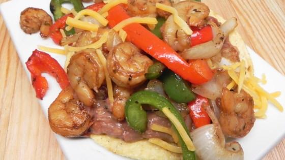 Photo of Crunchy Shrimp Fajitas by Ashelena