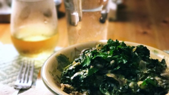 Photo of Kale and Mushroom Stroganoff with Quinoa by Amanda Reilly