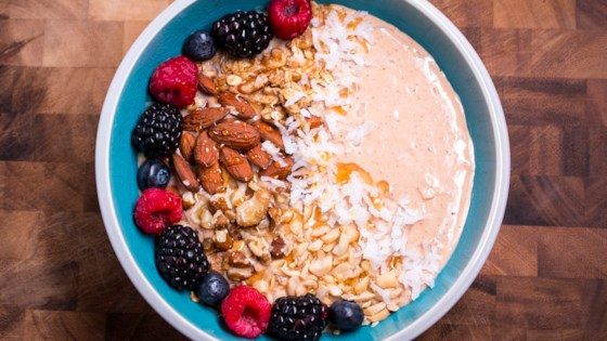 Photo of Honey-Kissed Smoothie Bowl by Aunt Sue's® Raw Honey