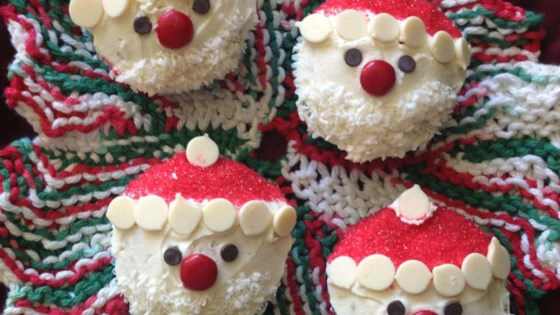 Photo of Christmas Santa Cupcakes by barbara