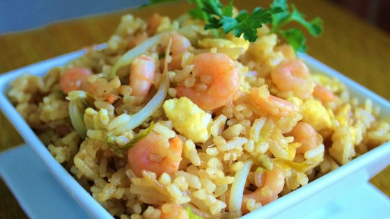 How to make shrimp fried rice with jasmine