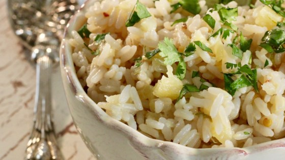 Photo of Instant Pot® Pineapple-Coconut-Lime Rice by lutzflcat