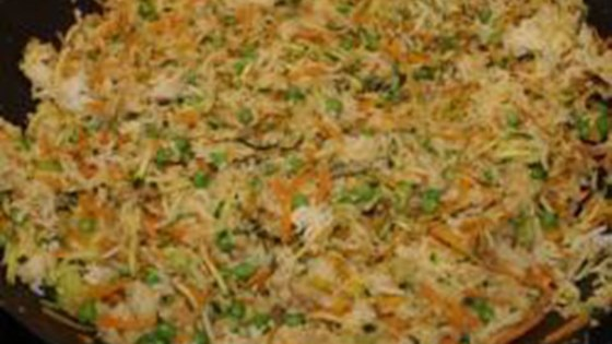 Photo of Fried Rice with Vegetables and Peas by vewohl