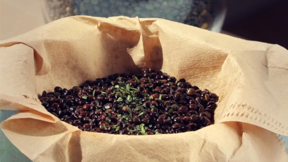 Photo of Skillet-Popped Lentils with Parsley by Megan Olson