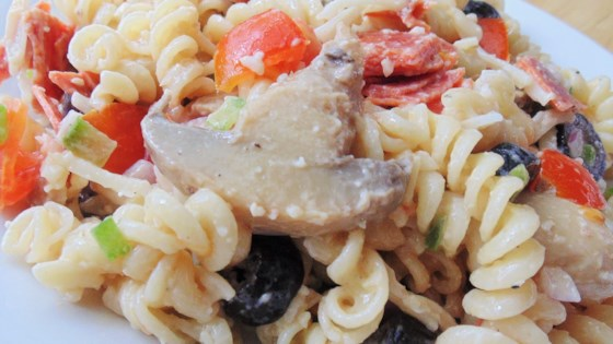 Photo of Pepperoni Pizza Pasta Salad by sandy
