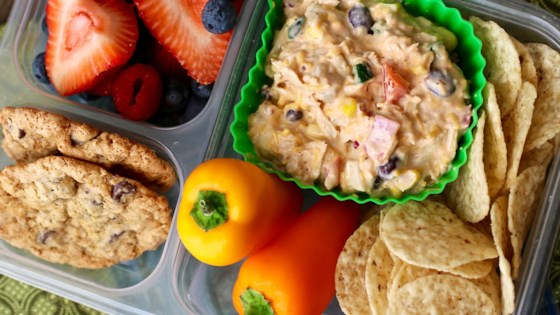 Photo of Southwest Chicken Salad Bento Box by My Hot Southern Mess