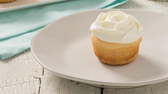 Photo of Vanilla Cupcakes with Vanilla Whipped Cream Frosting by Pyure