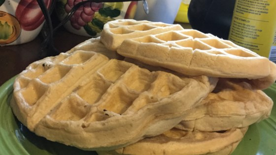 Photo of Vegan Cinnamon Waffles by siege36