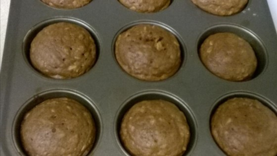Photo of Chocolate Raisin Oatmeal Muffins by CHEWLY