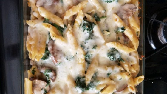 Photo of Portobello Penne Pasta Casserole by chmadden