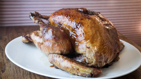 Pomegranate Molasses-Glazed Turkey