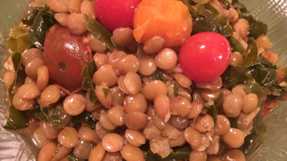 Photo of Summer Lentils with Tomatoes by Cally