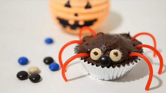 Photo of Halloween-Inspired Cupcakes by Allrecipes