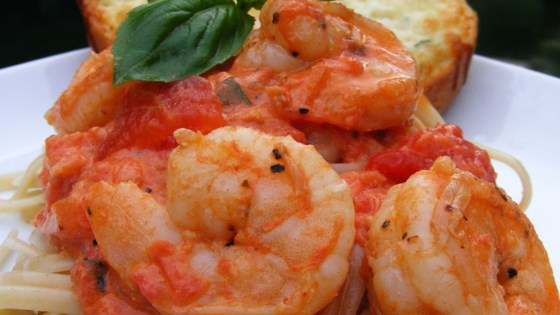 Photo of Linguine Pasta with Shrimp and Tomatoes by Cindy in Pensacola