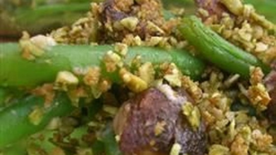 Photo of Green Bean Casserole with Pumpkin Seed Crumble (Eat Clean for Thanksgiving) by Ivy Larson