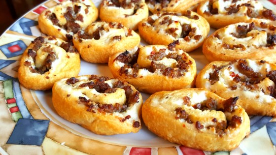Photo of Sausage and Cream Cheese Pinwheels by brandi03