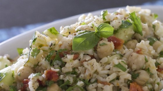 Photo of Greek Brown Rice Salad by Only Gluten Free Recipes