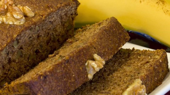 Photo of Gluten-Free Vegan Banana Nut Bread by My Healthy Kitchen