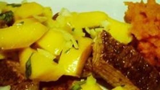 Pork Loin and Mango