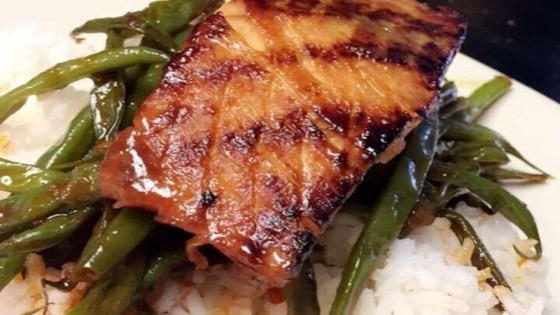 Lime and Miso-Glazed Salmon Recipe