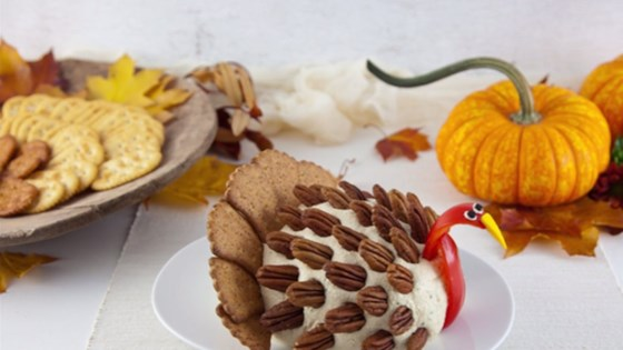 Photo of Turkey Cheese Ball for Thanksgiving by Allrecipes