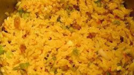 Photo of Mediterranean Rice Pilaf with Pistachios and Golden Raisins by Brigitte