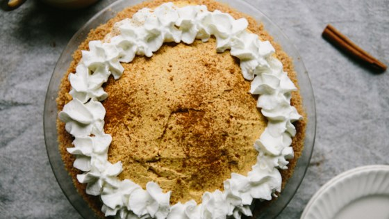 Cinnamon Toast-Crusted Pumpkin Pie