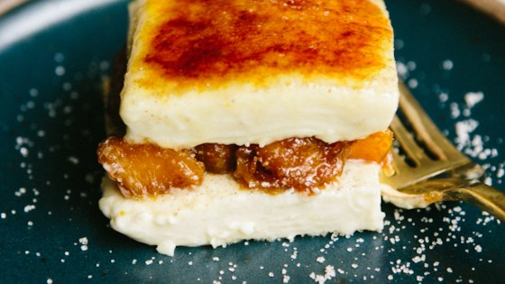 Photo of Cardamom Creme Brulee Parfait with Candied Pumpkin by Ashley Baron Rodriguez