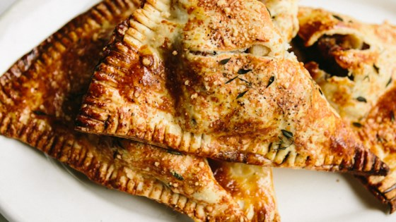 Photo of Sausage and Apple Pie in a Parmesan Thyme Crust by Ashley Baron Rodriguez