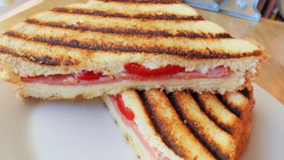 Photo of Grilled Panini Sandwich Without a Panini Maker by Jacquita