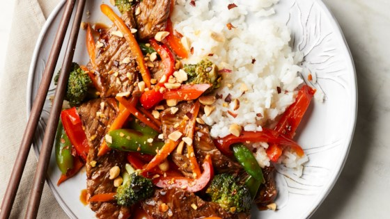 Asian Steak and Vegetable Stir-fry