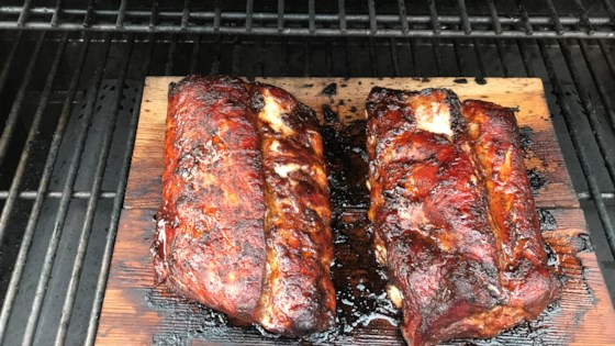 Photo of Cedar-Smoked Baby Back Ribs  by rozbone