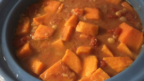 African Sweet Potato Stew Recipe