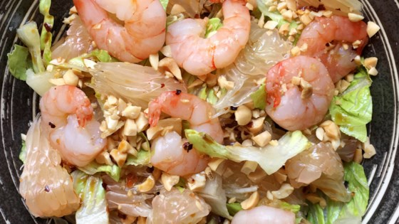 Photo of Shrimp Pomelo Salad by A Day In the Kitchen