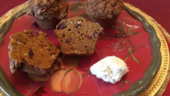 Photo of Pumpkin-Apple Cider Muffins by trish