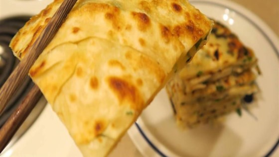 Photo of Chinese Green Onion Pancake by Francis Meng