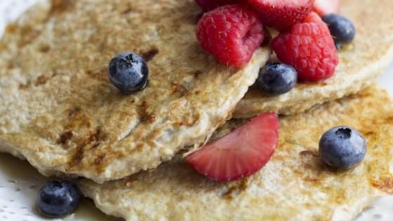 Photo of Vanilla Cinnamon Protein Pancakes by skinnymom