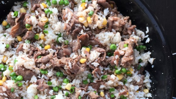 Photo of Pepper Beef Rice Skillet by A Day In the Kitchen